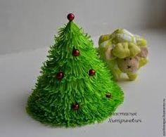 Image Result For Manualidades De Papel Crepe Para Navidad Especial