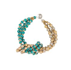 Forest Green Shadow Knot Spark Bracelet by 31 Bits - SET & STYLE (Free Shipping)
