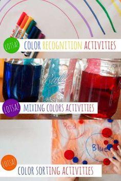 Lotsa Color Activities for Preschoolers & Toddlers Too! via @handsonaswegrow