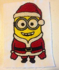Santa Minion: Miss Mary's Embroidery