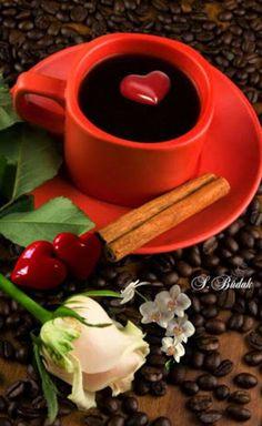 Coffee Can Crafts Info: 6001899456 Coffee Gif, Coffee Latte, Coffee Cups, Good Morning Roses, Good Morning Coffee, Gif Café, Bon Mardi, Tea Cafe, Coffee Heart