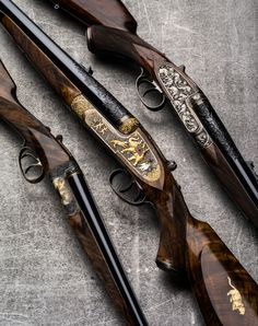 Westley Richards Rifles and Shotgun