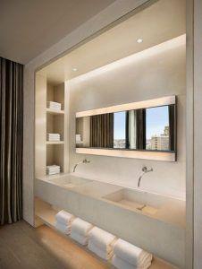 Espelhos com iluminação embutida para banheiros e lavabos - Salve a Noiva