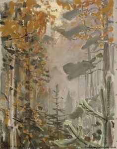 Akseli Gallen-Kallela - Autumn Landscape, 1911,...