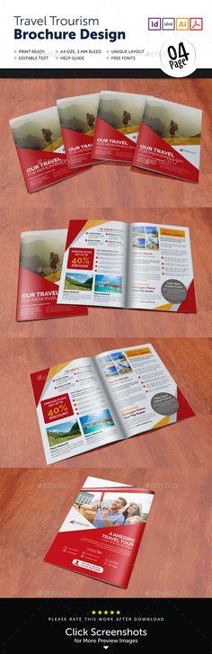 Travel Brochure Travel brochure template, Travel brochure and - travel brochure templates