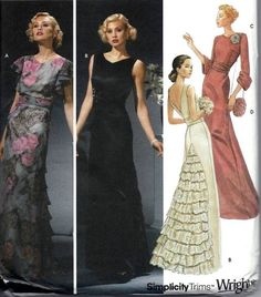 396 Best W Dress Patterns Images Dress Patterns W