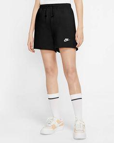 Nike Sportswear Women's Jersey Shorts. Nike.com Shorts Nike, City Shorts, Gym Shorts Womens, Nike Sportswear, Jersey Nike, Jersey Shorts, Clothing Haul, Clothing Items, Nike Flats