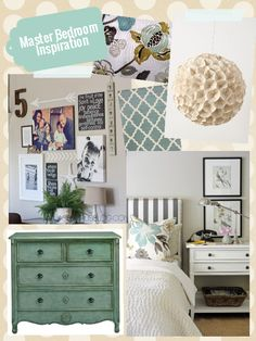 The Inspiration Board » Master Bedroom Inspiration