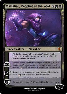 Malzahar Planeswalker by EndOsiris