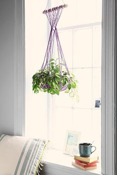Magical Thinking Macrame Hanging Planter