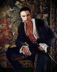 Erik - the romantic phantom by phantomlover.deviantart.com