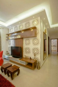 3 BHK Partement : Classic Living Room By In Built Concepts Part 93