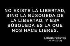 Libertad para ser libres.