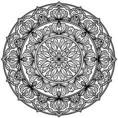 Mandala 742, Krita Circles Mandala by WelshPixie on DeviantArt