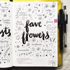 Spring makes me think of flowers, what are your favorites? #hobonichi #journal #journalingprompts #journaling #artjournal #artjournaling #planner #filofax #midori #midoritravelersnotebook...