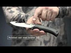 Gerber Gator Premium, Pocket Knife, Black Rubber Handle with Gut Hook Bowhunting Gear, Gerber Knives, Zombie Apocalypse, Black Rubber, Handle, Camping, Pocket, Zombie Apocolypse, Campsite