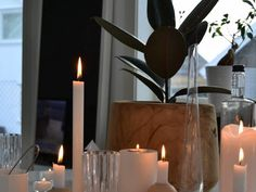 Tablesetting. Styling. Decor, Wall Lights, Table Settings, Candles, Taper Candle, Wall, Home Decor, Inspiration, Light