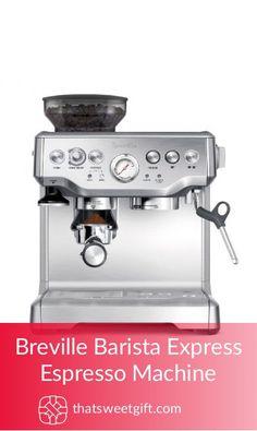Breville Barista Express Espresso Machine #thatsweetgift