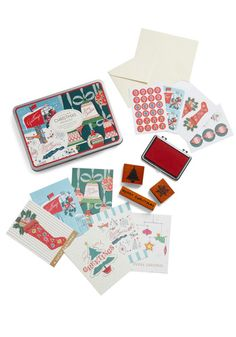 Write Christmas Card Set