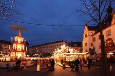 Weihnachtsmarkt #Darmstadt