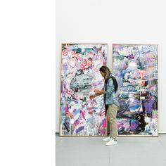 Oso Parado Artist Art Basel Week Miami 2016 Osoparado #contemporaryart #osoparado