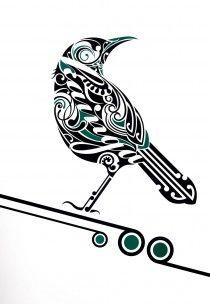 Tui Kainga by Kiwi artist Shane Hansen