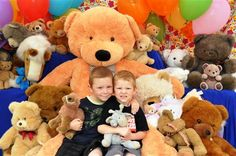 Get your picture taken with the Teddy's for the Teddy Bears Picnic - Very popular...