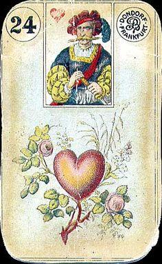 Le Petit Lenormand tarot card