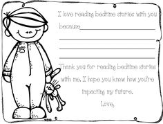 Thank you for reading with me. Bedtime stories theme.