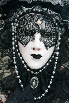 Italy / Carnival in Venice. #masks #venetianmask #masquerade http://www.pinterest.com/TheHitman14/art-venetian-masks-%2B/