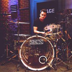 Joe Rickard.. He's my drummer role model.