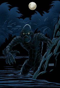 Czajnik's Workshop: Creature from the Black Lagoon