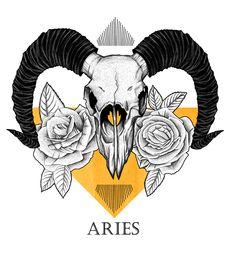 Aries Art, Aries Astrology, Aries Sign, Zodiac Signs Aries, Zodiac Art, Blue Roses Wallpaper, Aries Aesthetic, Aries Constellation Tattoo, Pagan Art