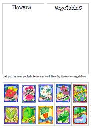 Gardening preschool pack    I used this sorting activity with my students this past year.