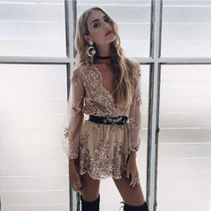 "2,722 Likes, 70 Comments - VERGE GIRL (@vergegirl) on Instagram: ""Guess what babes! Our best selling GOLDEN DELUX ROMPER is back!  Shop it now! vergegirl.com """