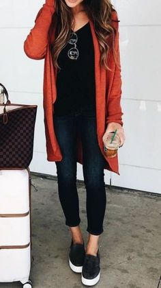 50 Fall Outfit Ideas To Get Inspire By 50 fall outfit ideas to get inspired by t… 50 Herbst-Outfit-Ideen zum Inspirieren Klicken Sie hier, um [. Casual Fall Outfits, Fall Winter Outfits, Autumn Winter Fashion, Casual Winter, Spring Outfits, Winter Clothes, Women's Casual, Casual Weekend, Black Outfits