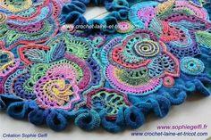 "Freeform Crochet ""Russian Rhapsody"" Sophie Gelfi Designs - Sophie ..."