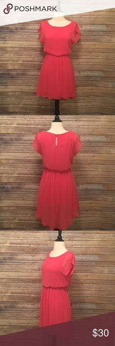 """Pink High Low Lush Dress Pink High Low Lush Dress in excellent condition.  Length 30"""" (front) 36"""" (back) Lush Dresses High Low"""