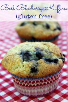 GF best blueberry muffins