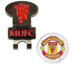 Manchester United FC. Hat Clip and Detachable Golf Ball Marker by Manchester United F.C.. $13.10. MANCHESTER UNITED F.C. Hat Clip & Ball Marker * Brass Hat Clip With Magnetic Ball Marker Official Licensed Product