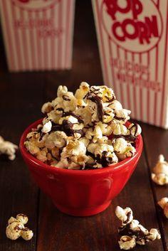 Salted caramel popcorn, Salted caramels and Popcorn on Pinterest