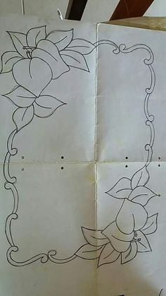 This Pin was discovered by Mom Tambour Embroidery, Hand Embroidery Patterns, Applique Patterns, Embroidery Art, Embroidery Stitches, Quilt Patterns, Embroidery Designs, Parchment Design, Rose Stencil