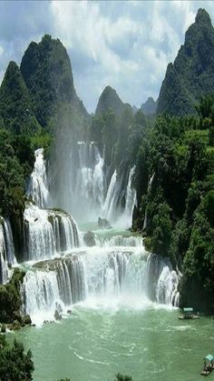 Amazing waterfall oh my god this that's really cool to see