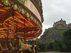 View of Edinburgh Castle from Princes Street Gardens. Tanya Rivera, Your Take