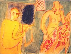 Henri Matisse - The Painting Session, 1942