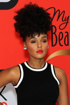 """Janelle Monáe is not here for you, sir. After a male twitter fan(?) tweeted at the singer, """"girl stop being so soulful and be sexy..tired of those dumbass suits..you fine but u too damn soulful man,"""" the star shut it DOWN with her response: """"sit down. I'm not for male consumption."""" Any questions?   - MarieClaire.com"""