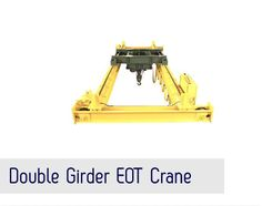We have been able to carve a niche for ourselves in manufacturing and supplying a pristine range of Cranes and Allied Equipment. Our array comprises HOT/EOT Overhead Cranes, Wire Rope Electric Hoist, JIB Cranes, Goods Lift Cranes, Under Slung Cranes, Steel Structure and Gantry Crane.