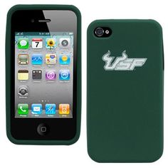 Green #USF iPhone case.