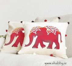 Indian Elephant Stencil - Buy Indian pattern and animal stencils online – The Stencil Studio