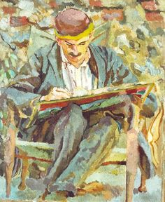A painting of John Maynard Keynes by Duncan Grant (1917). Photograph: Estate of Duncan Grant, courtesy of Charleston Trust